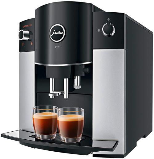 Kaffeemaschine Jura D600 Platin