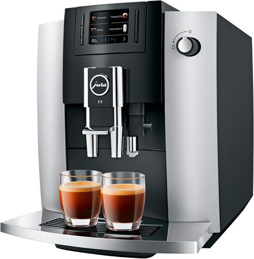 Kaffeemaschine Jura E6 Platin
