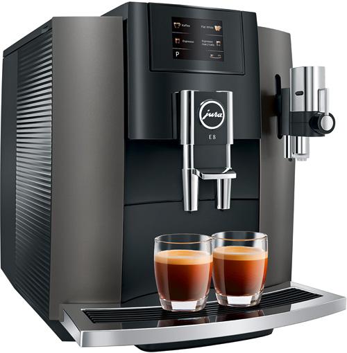 Kaffeemaschine Jura E8 Dark Inox
