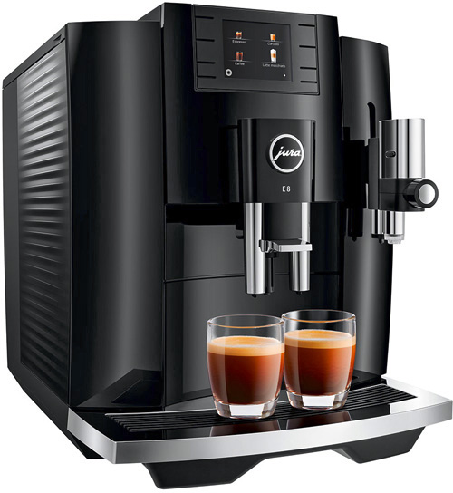 Kaffeemaschine Jura E8 Piano Black