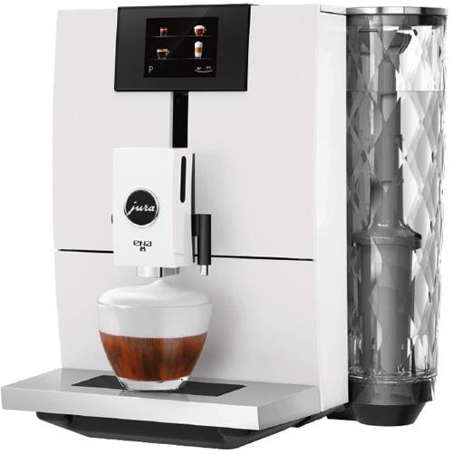 JURA Kaffeevollautomaten Haushalt ENA 8 Full Nordic White