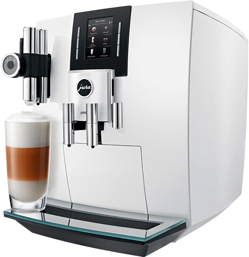 JURA Kaffeevollautomaten Haushalt J600 Piano White