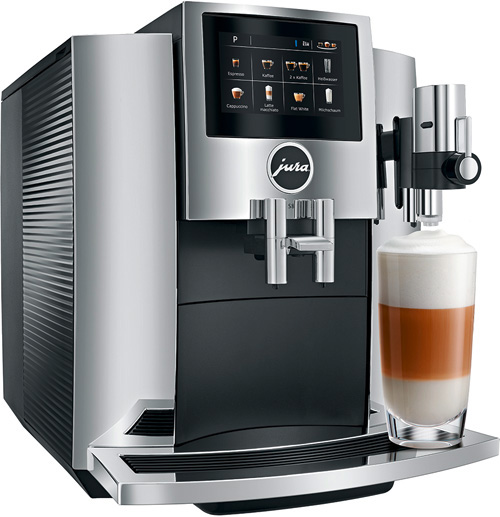 JURA Kaffeevollautomaten Haushalt S8 Chrom