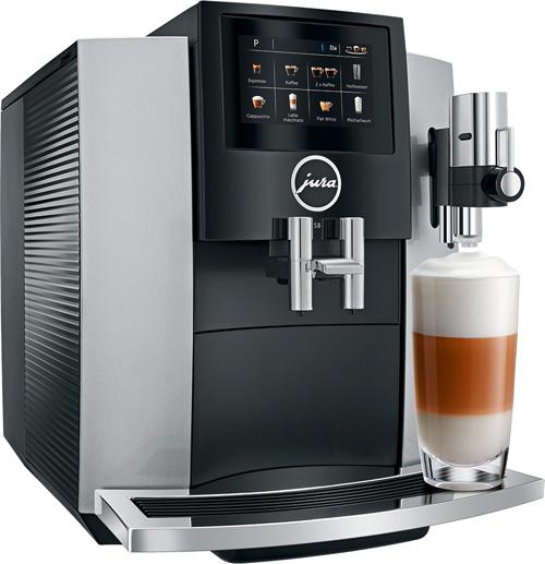 JURA Kaffeevollautomaten Haushalt S8 Moonlight Silver