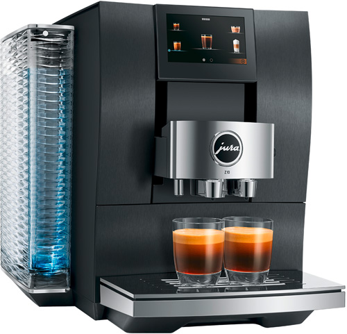 JURA Kaffeevollautomaten Haushalt Z10 AluminiumDark Inox